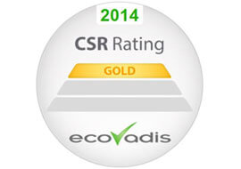 BillerudKorsnäs receives 'Gold' sustainability rating from EcoVadis