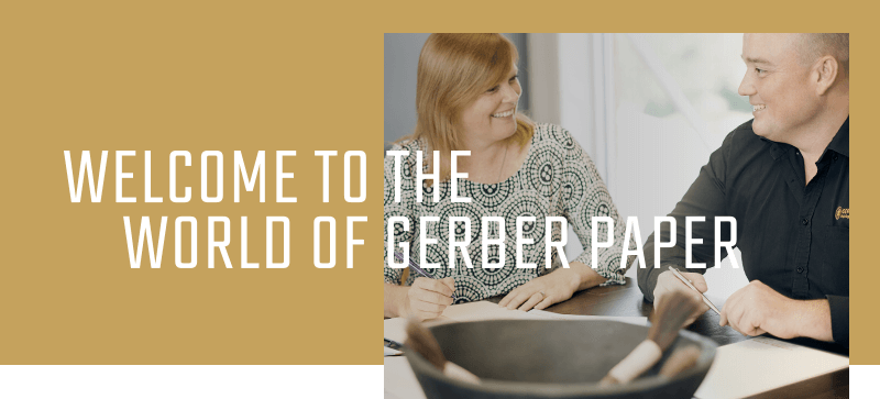 Welcome to the world of Gerber Paper
